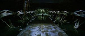 harry potter giải cứu Ginny Weasley trong căn phòng bí mật