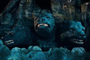 Chó ba đầu trong Harry Potter