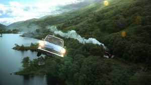 xe bay tàng hình của nhà Weasley