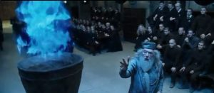thầy Dumblerdore và chiếc cốc lửa