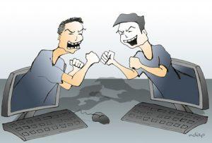 Sân si trên mạng xã hội