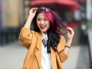 Trang Cherry đóng vai nhân vật thảo mai