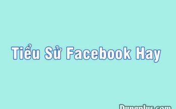 Tiểu sử facebook hay bá đạo nhất, Tổng hợp 1001 tiểu sử chất như nước cất