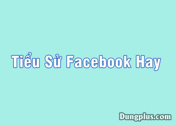 Tiểu sử facebook hay bá đạo nhất, Tổng hợp 1001 tiểu sử chất như nước cất 2