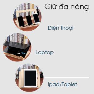 giá gỗ để ipad , điện thoại