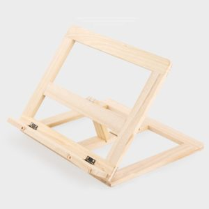 Giá gỗ dùng để sách, ipad, điện thoại đa năng 1