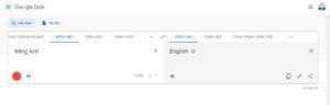 tính năng dịch giọng nói của google translate