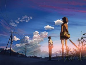 truyện tình giữa Toono Takaki và Akari
