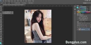 công cụ để làm mờ ảnh nền trong photoshop