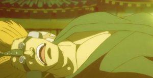 luffy sử dụng haki bá vượng đánh gục các tên lính tại wano