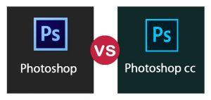 Adobe photoshop CC với Adobe Photoshop CS