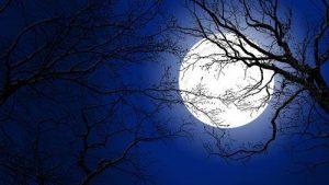 trăng tà