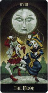 Lá bài Deviant Moon Tarot trong bộ bài Deviant Moon Tarot