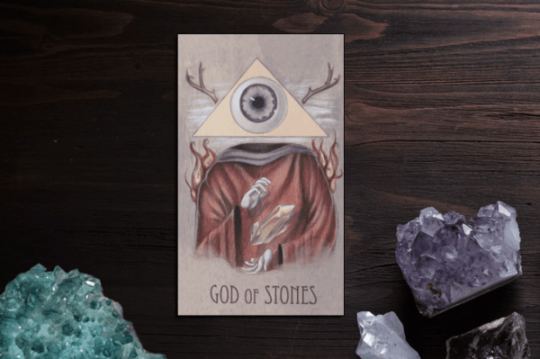 Các lá bài wooden Tarot có thể phản ánh tâm lý