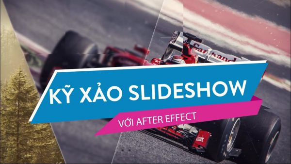 Kỹ xảo Slideshow với After Effects
