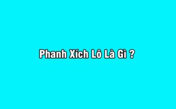 Phanh Xích Lô